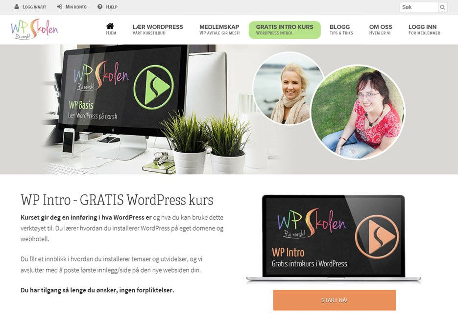 wordpress skole proisp