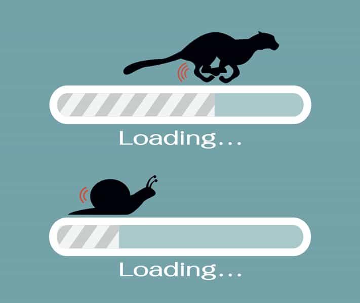 raskere nettside