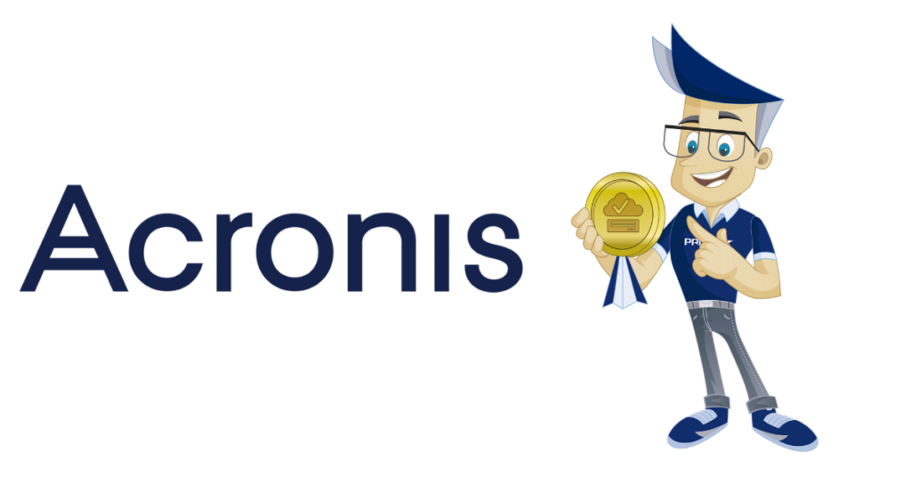 Tom and PRO ISP are satisfied users of Acronis backup