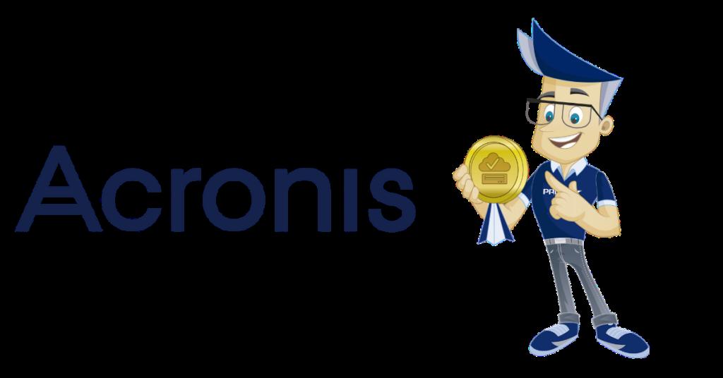 Tom og PRO ISP er fornøyde brukere av Acronis backup