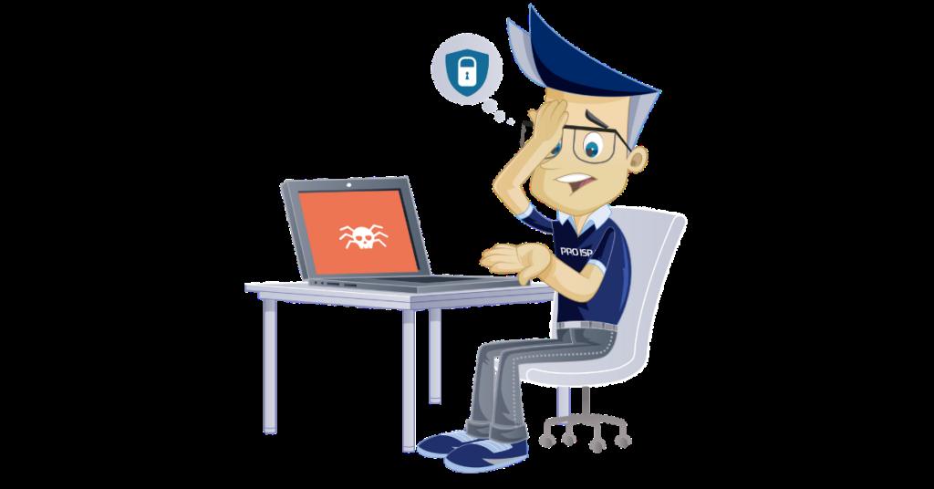 Tom er rammet av hackerangrep. Tørr du la være å sikre dine data med backup?