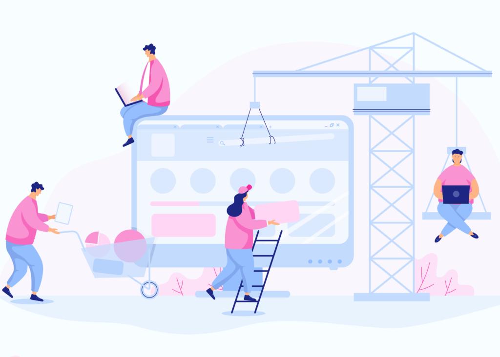 Bygg en nettside med kunden og SEO i fokus.